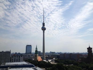 Berlin Germany Travel Pictures Photos Cool Historic Weekly Show Fernsehturm Soviet Space Needle Television Tower