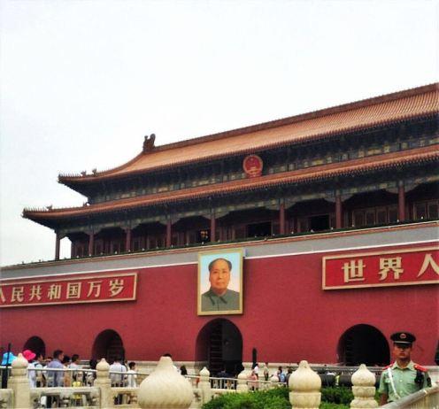 While Mao Zedong was establishing the PRC in Beijing...