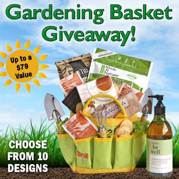 All About Gifts & Baskets Gardening Gift Basket #Giveaway The