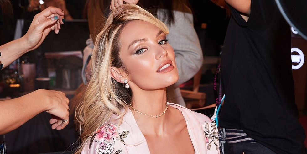 The Hair And Makeup Details From The Victorias Secret Fashion Show