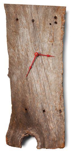 Reclaimed wood clock $45 by Jeffrey Vermaat and Jordana Leventhal