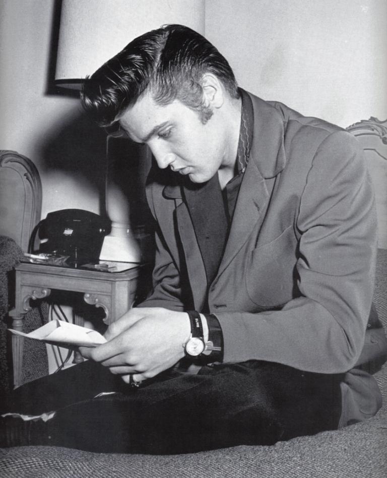 Elvis Presley The Rebel Rouser