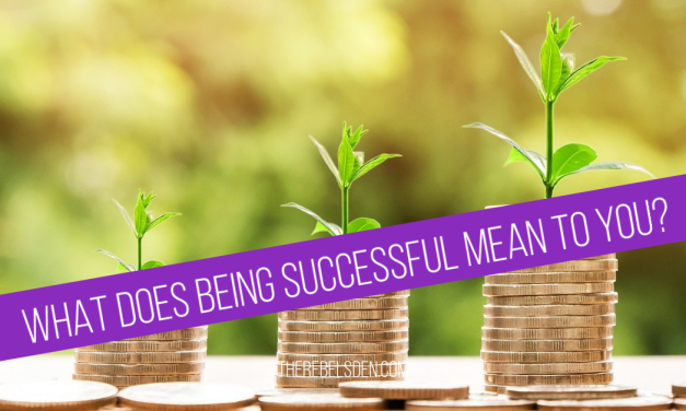 What does being successful mean to you?