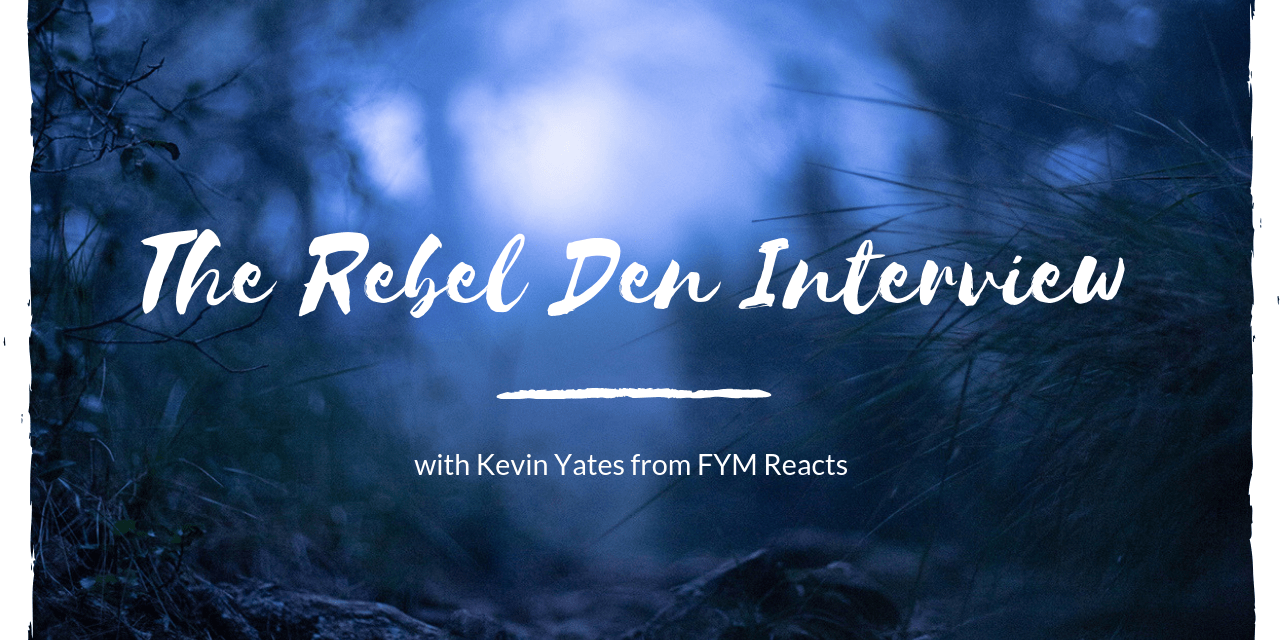 Interview with Kevin Yates from FYM Reacts