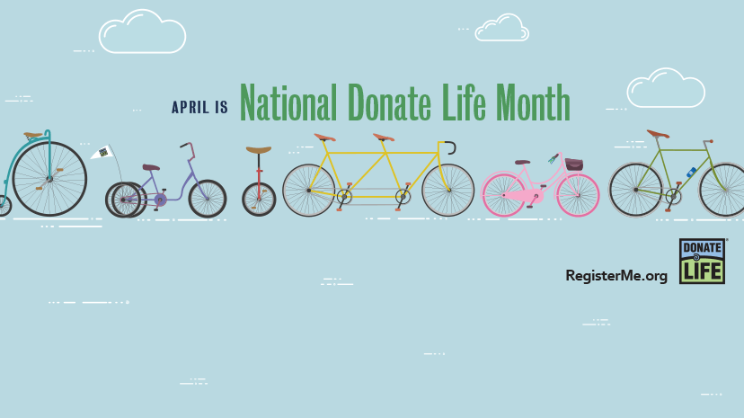 April is National Donate Life Month