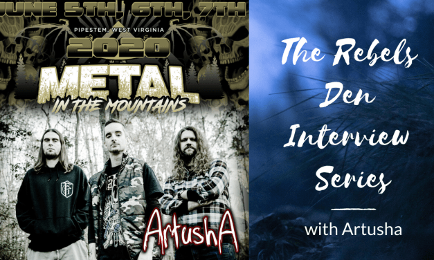 Metal in the Mountains – Artusha Interview