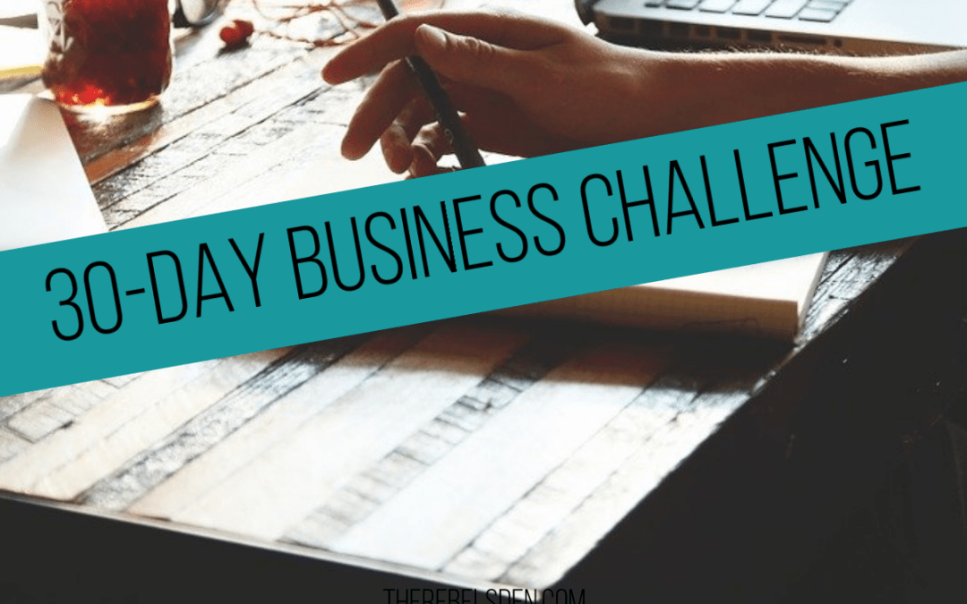 30-DAY BUSINESS CHALLENGE