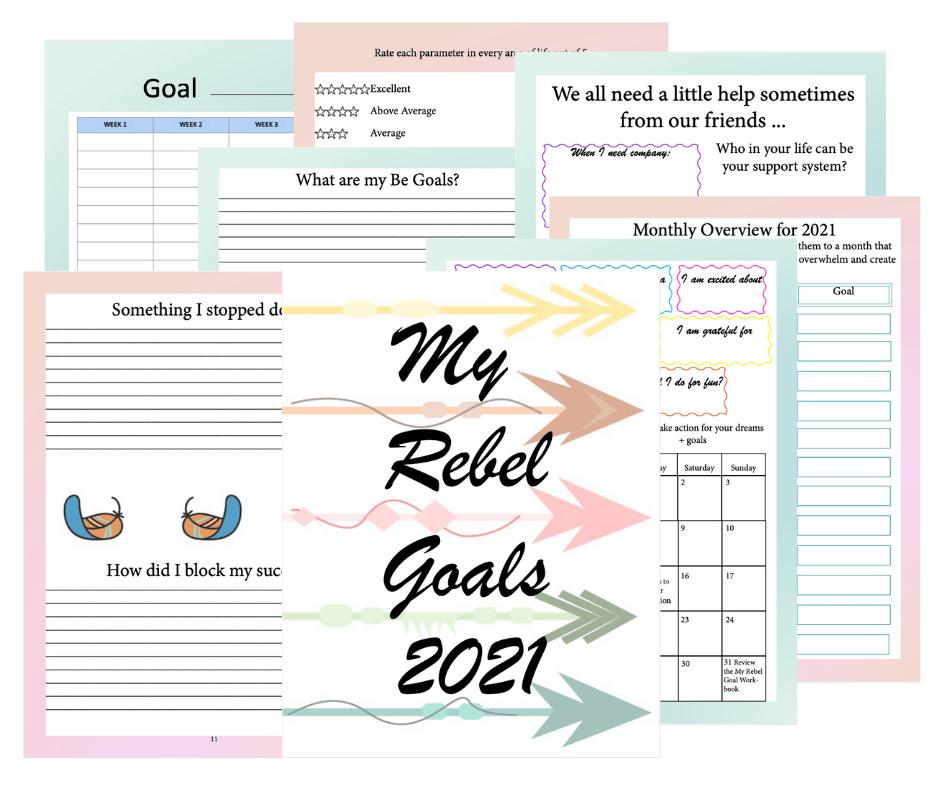 My Rebel 2021 Goals