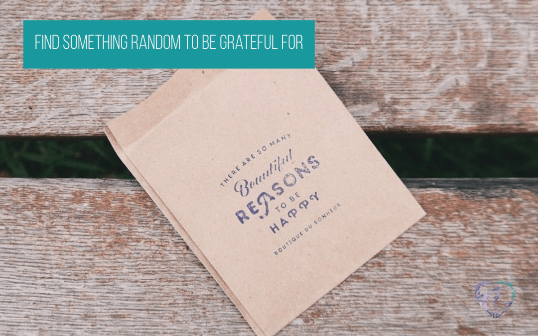 Find Something Random To Be Grateful For