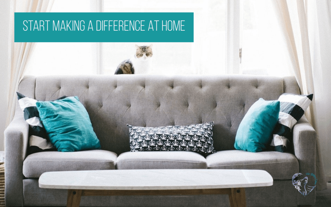 Start Making A Difference At Home