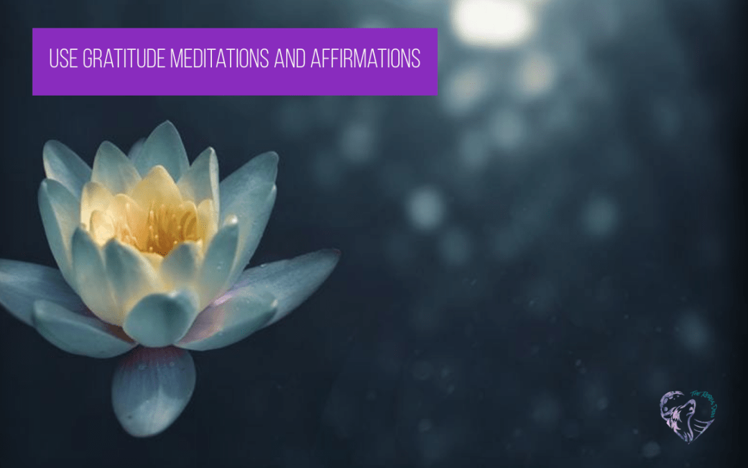 Use Gratitude Meditations and Affirmations
