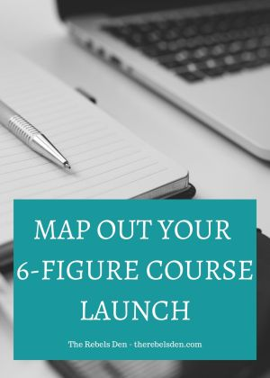 Map out your 6-Figure Course