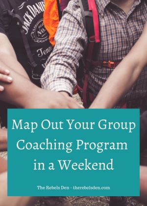 Map Out Your Group Coaching Program