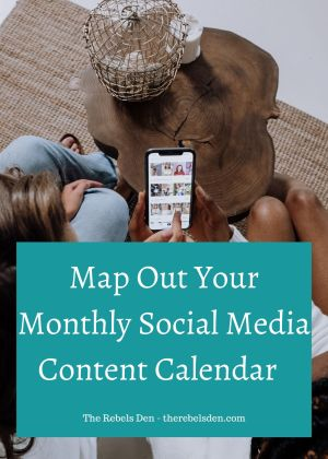 Map Out Your Monthly Social Media Content Calendar in a Weekend