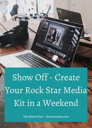 Create Your Rock Start Media Kit