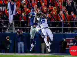 Auburn's Coates goes up for the catch