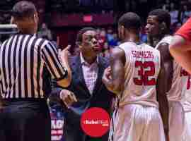 Coach Madlock talks to Summers