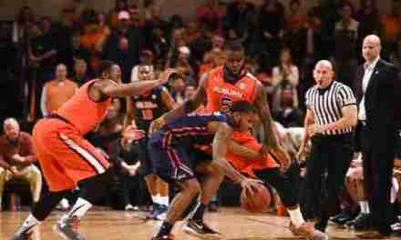 In front of rowdy crowd, Rebels down Auburn 86-79
