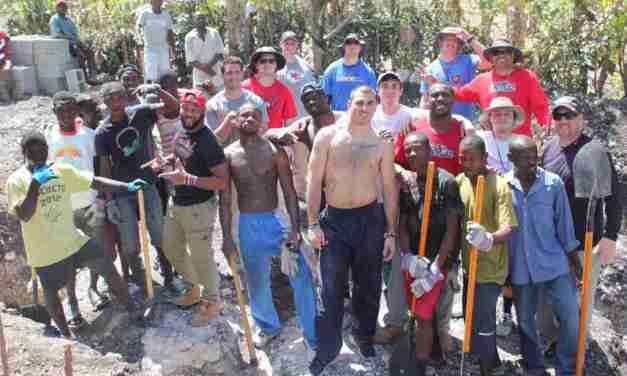 Coach Hugh Freeze and 14 Rebels are making a difference in Haiti