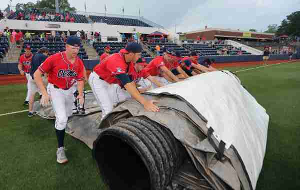 Ole Miss' Friday game postponed; doubleheader on Saturday