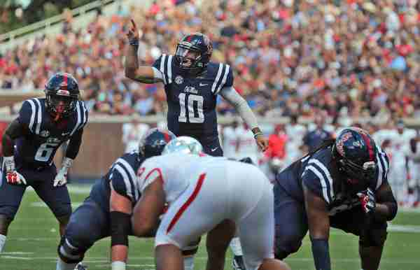 Kelly leads No. 17 Ole Miss to 73-21 win over Fresno State
