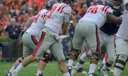 Weight loss paying off for Rebels' offensive lineman Jordan Sims