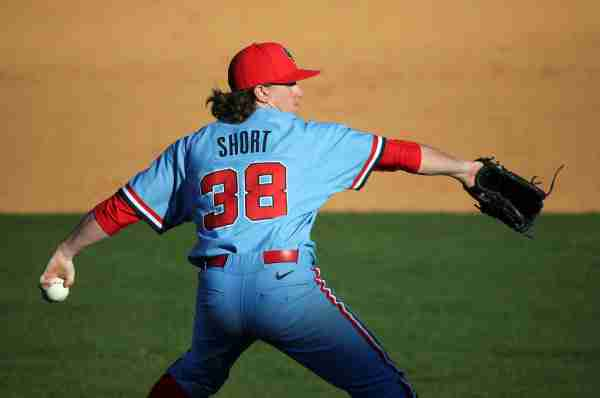 Wyatt Short prepared to take the mound as a starter if Ole Miss needs him