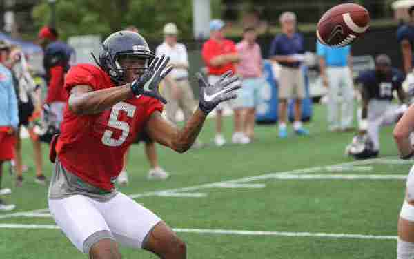 Ole Miss sophomore receiver Lodge takes advantage of time spent in film room