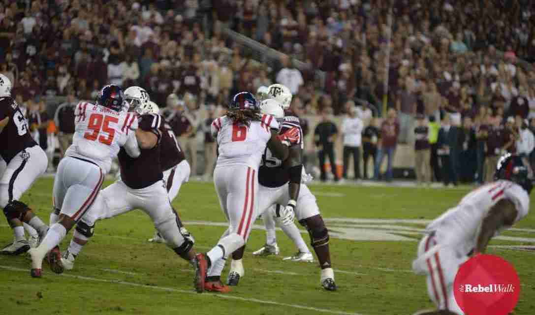 Landshark Defense helped make Rebels' win over Texas A&M possible