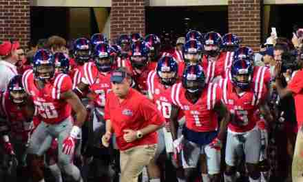 Hugh Freeze looks for improvements against Georgia Southern
