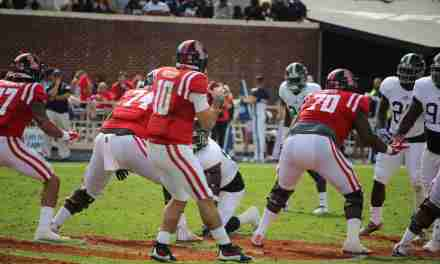 Rebels rally to defeat Georgia Southern 37-27