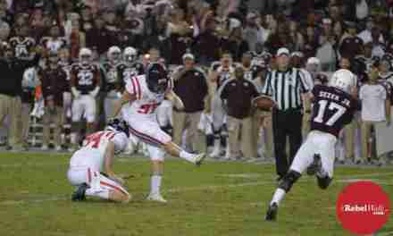 Ole Miss kicker Gary Wunderlich is one of the nation's best
