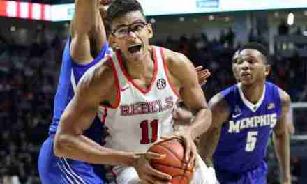 Saiz' double-double leads Ole Miss to 85-77 win over Memphis