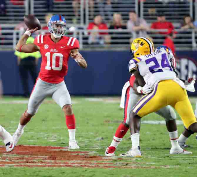 Rebels embrace 'next man up' philosophy as Ta'amu steps in at QB