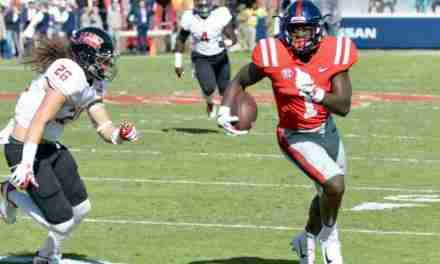 Ole Miss offense rolls as Rebels defeat ULL 50-22