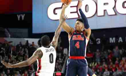 Ole Miss loses first SEC road game of season to Georgia, 71-60