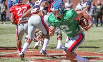 Ole Miss QB Matt Corral working hard and transitioning well to SEC football