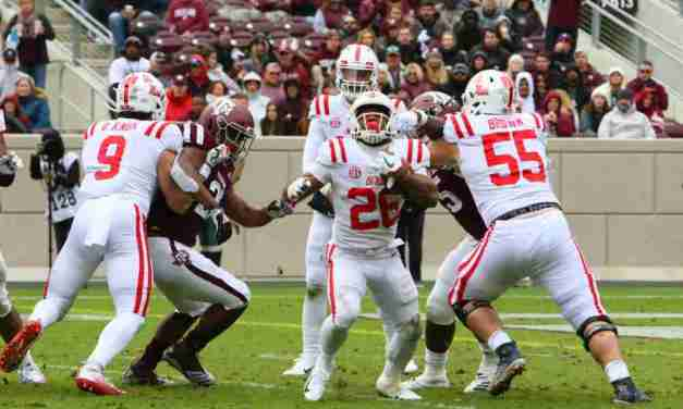 Rebels fall on the road in 38-24 loss to Aggies