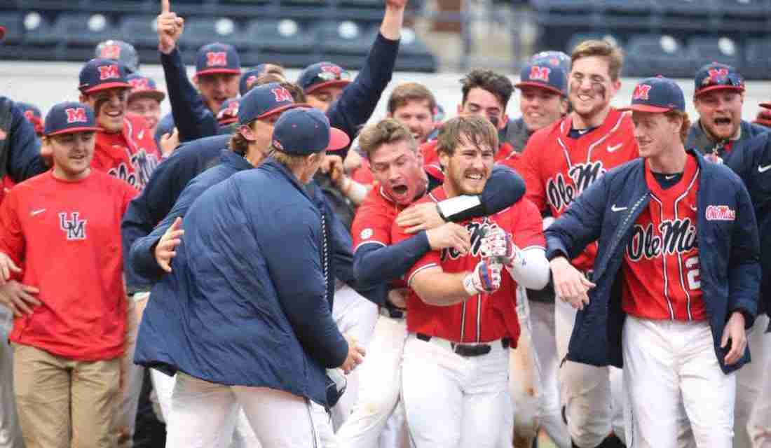 Dillard's walk-off home run gives Rebels a 7-6 win, series victory over Long Beach State