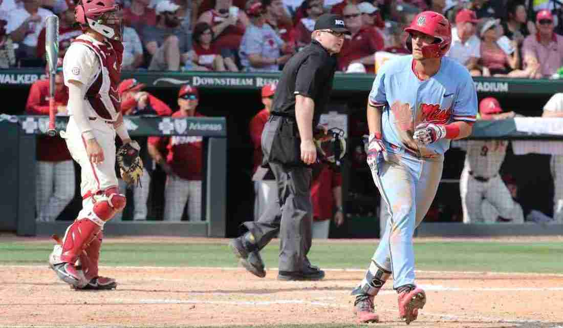 Ole Miss defeats Arkansas, 13-5, to force Super Regional Game 3