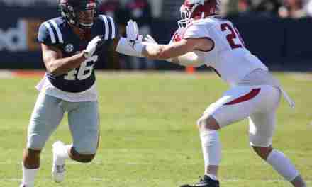 MoMo Sanogo eager to play with Rebels' deep linebacker corps