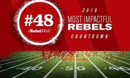 Most Impactful Rebels  for 2019: No. 48 Chandler Tuitt
