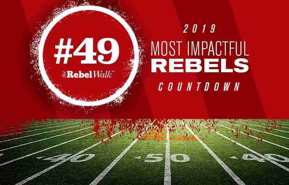 Most Impactful Rebels for 2019: No. 49 Dannis Jackson