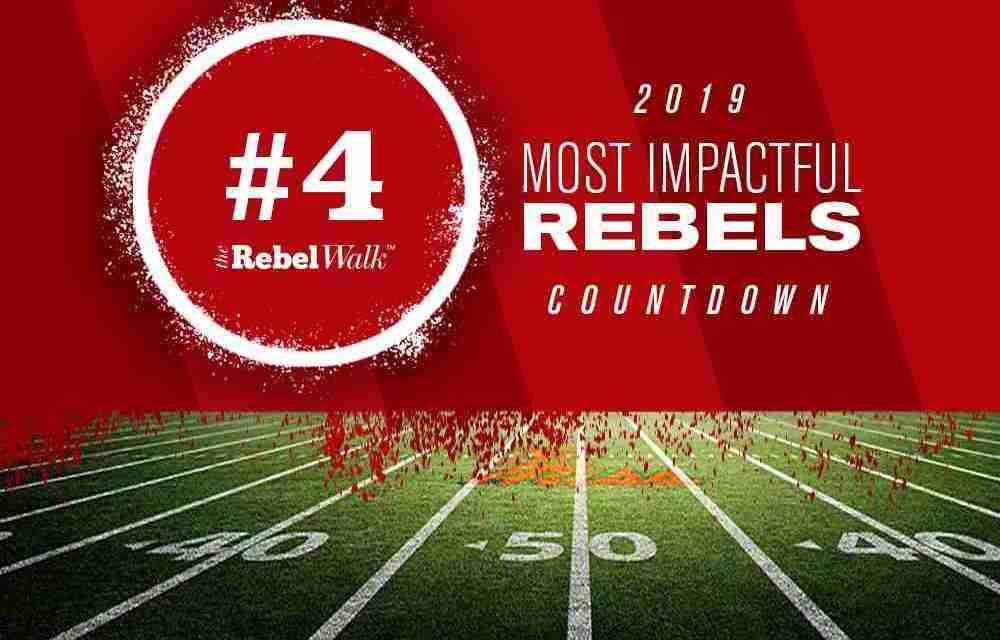 Most Impactful Rebels for 2019: No. 4 Elijah Moore