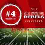 Most Impactful Rebels for 2019: No. 4 Elijah Moore