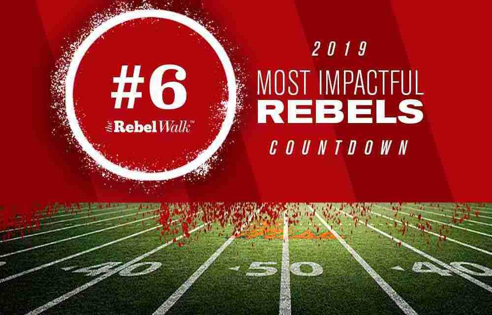 Most Impactful Rebels for 2019: No. 6 Jaylon Jones