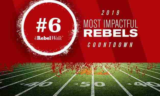Most Impactful Rebels for 2019: No. 6 Jaylon Jones