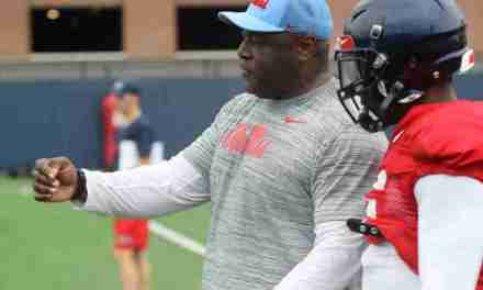 Ole Miss Coach Ty Nix pleased with outside linebackers ahead of Memphis game