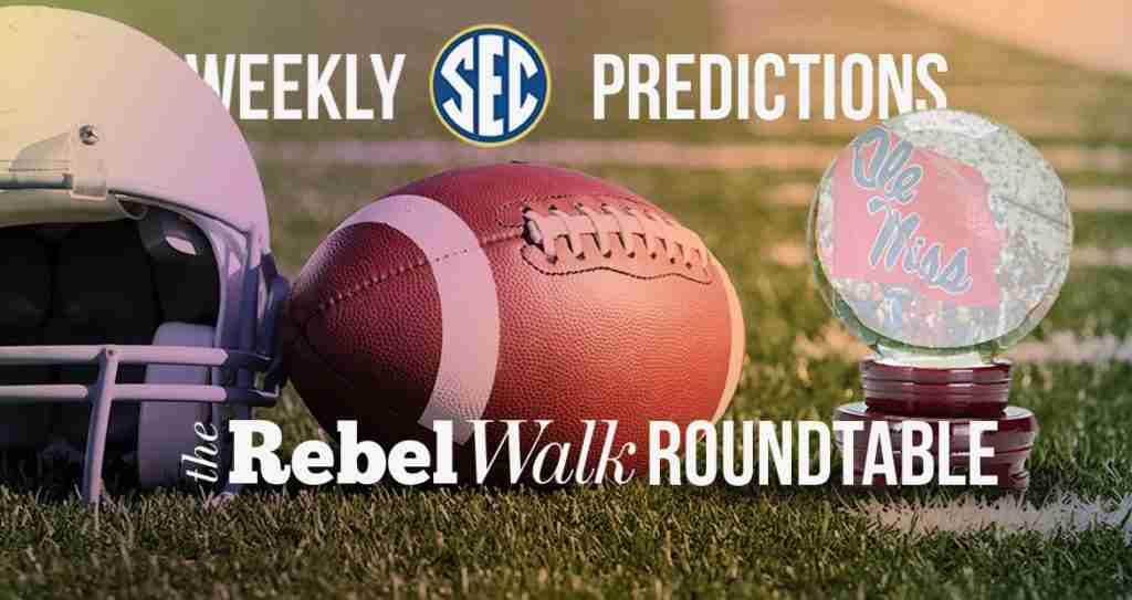 The Rebel Walk Roundtable: Our Week 9 SEC Picks