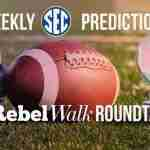 The Rebel Walk Roundtable: Our Week 6 SEC Picks